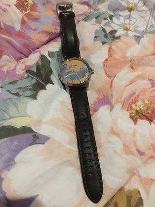 FOSSIL Leather FS5067 Special Edition Townsman Hong Kong Watch