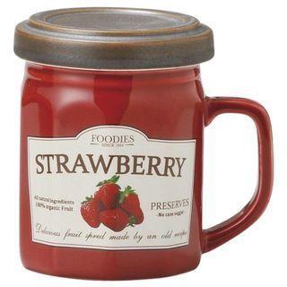 全新及正品 日本直送 SETO CRAFT 草莓果醬造型馬克杯 連蓋
