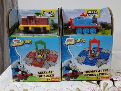 🚚 Adventures of Thomas at the Rescue Center + Salty at the Docks NEW