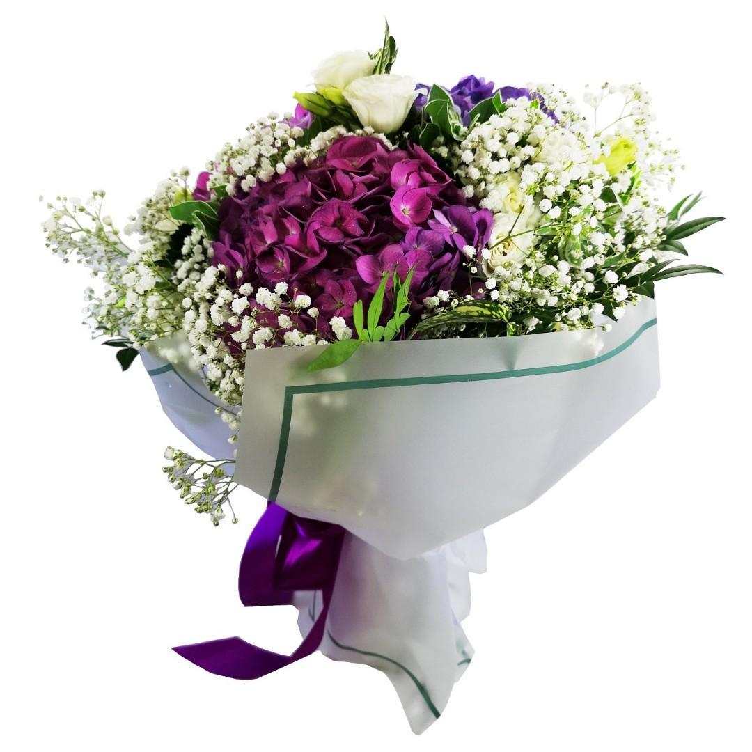 繡球花花束