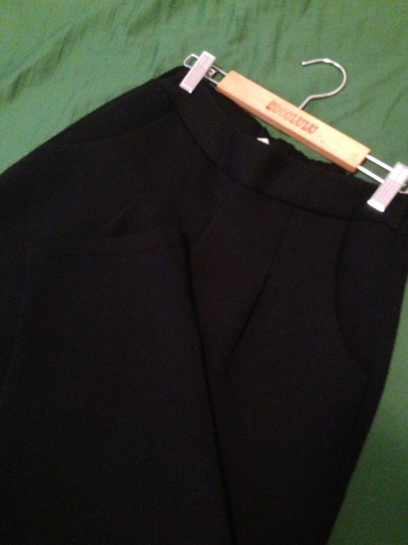 厚太空棉老爺褲