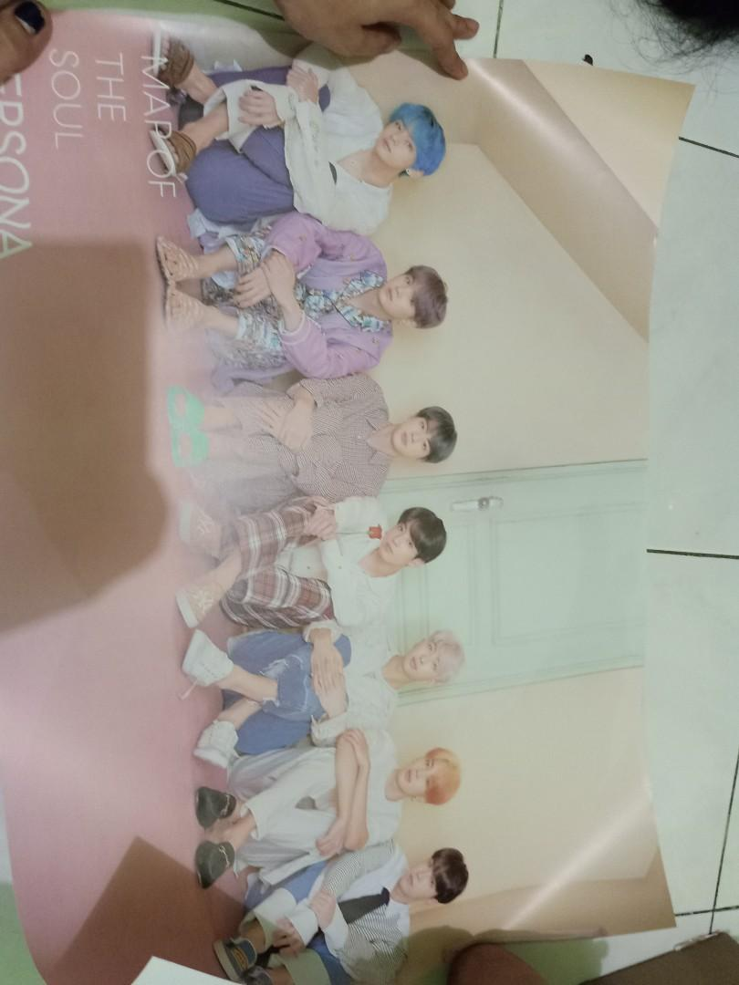 Album BTS Maps Of The Soul PERSONA MOPS