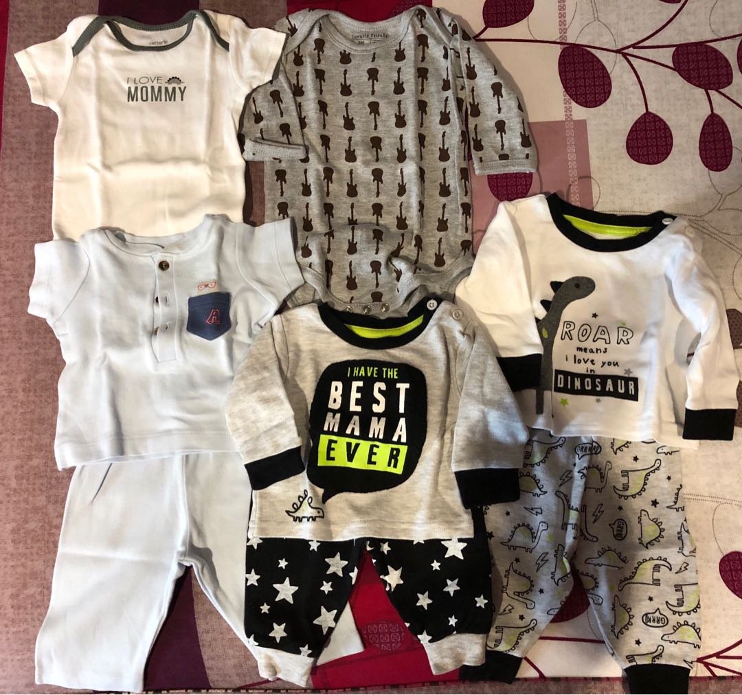 65fbbd74fc71 Baby Boy Clothes (0-3 months), Babies & Kids, Babies Apparel on ...