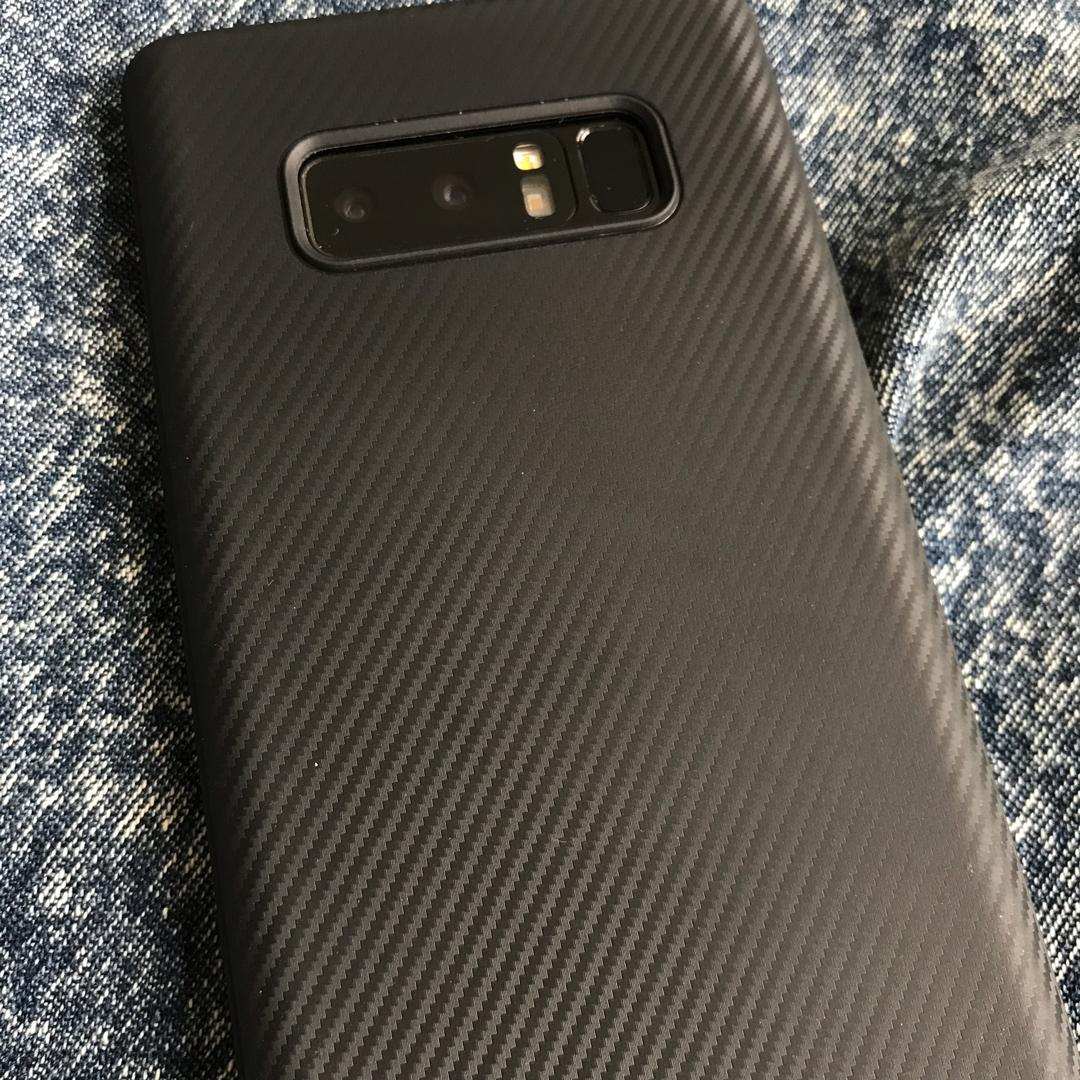 Black Soft Case for Samsung Galaxy Note 8