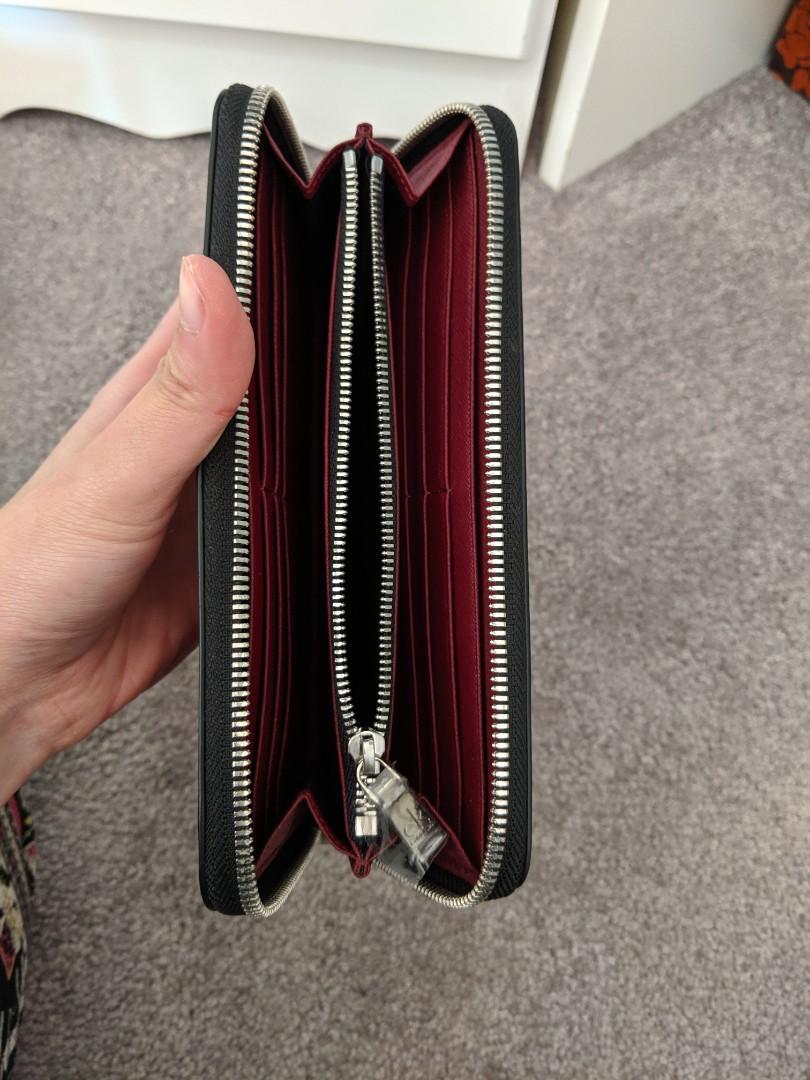 Calvin Klein burgundy wallet
