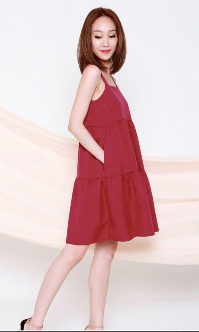 Carina Tiered Babydoll dress