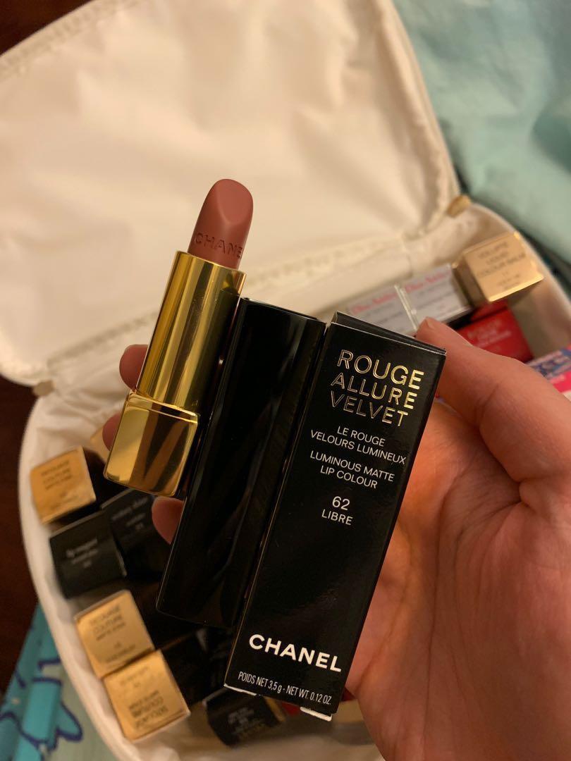 Chanel 絲絨唇膏#62 libre