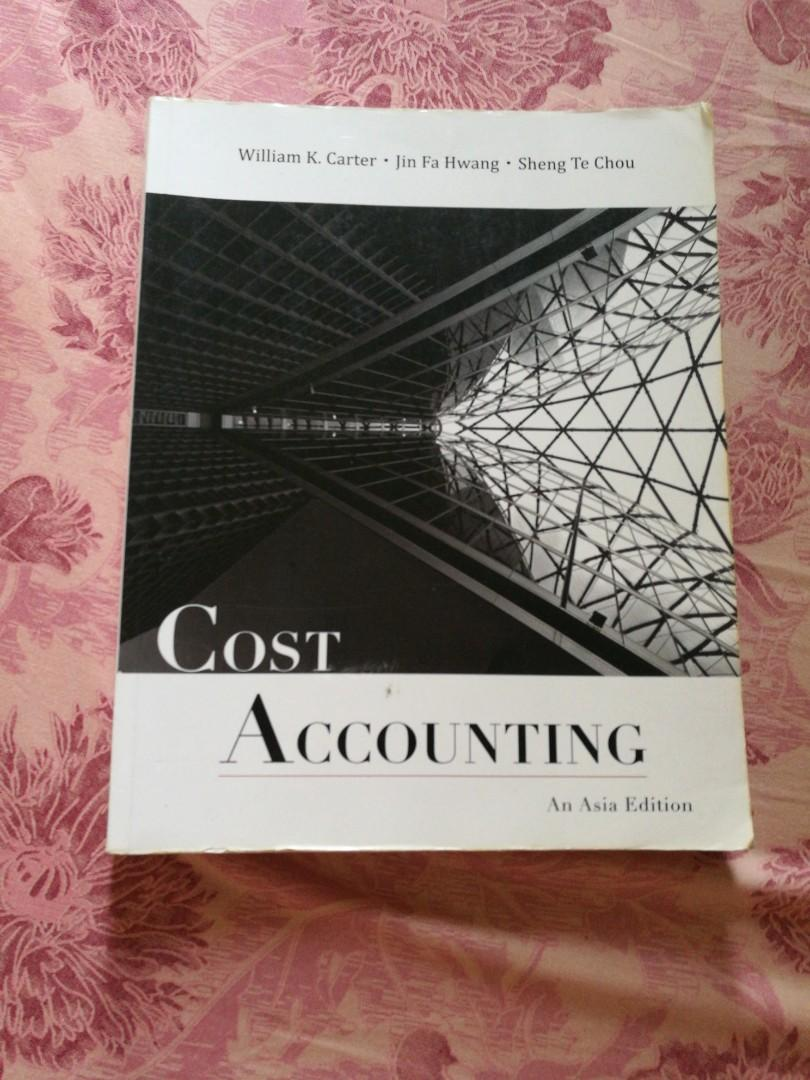 cost accounting an asia edition