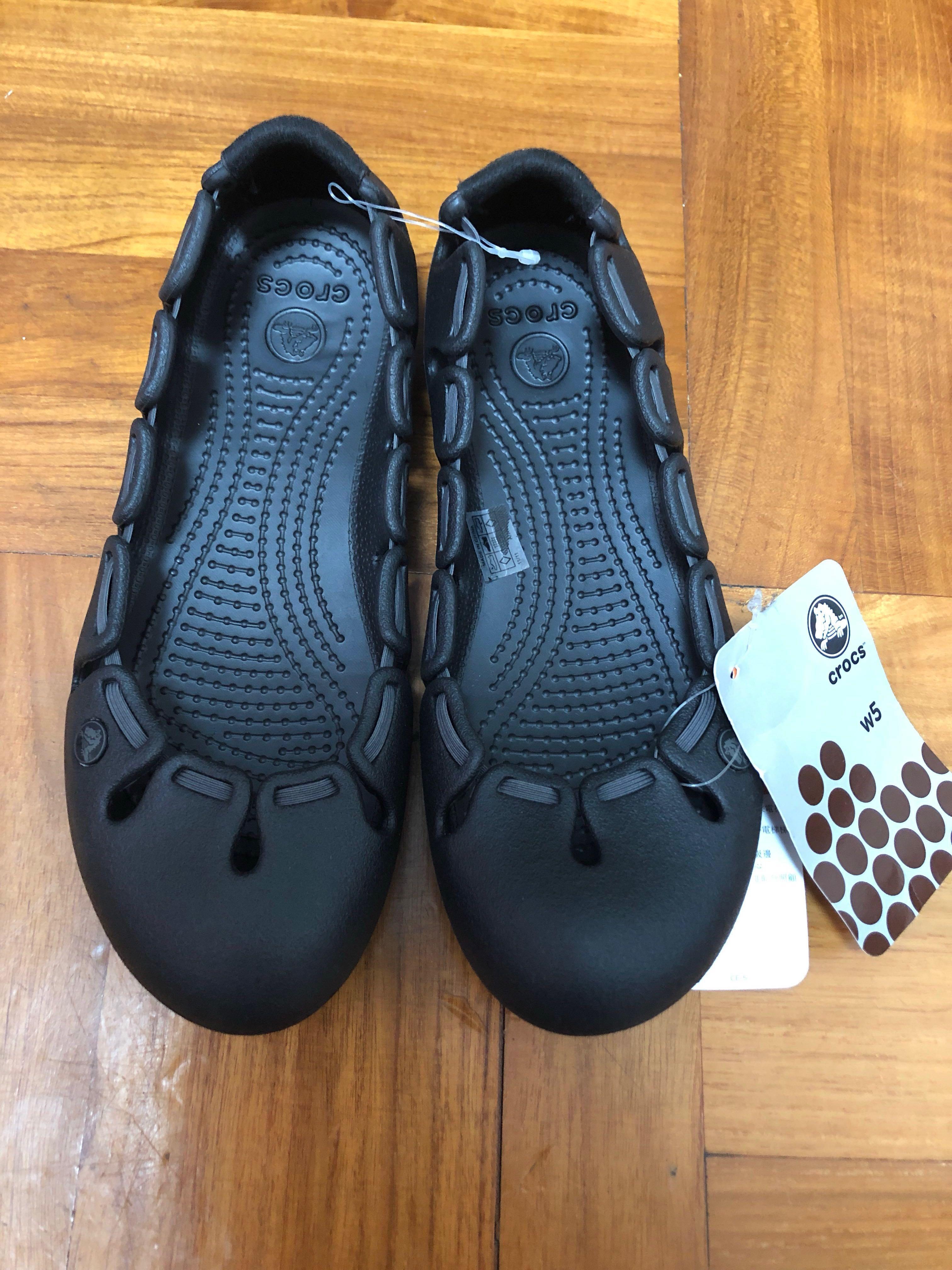 全新女裝CROCS膠鞋