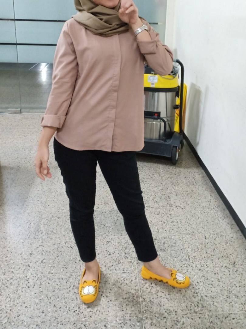 Daily blouse Brown