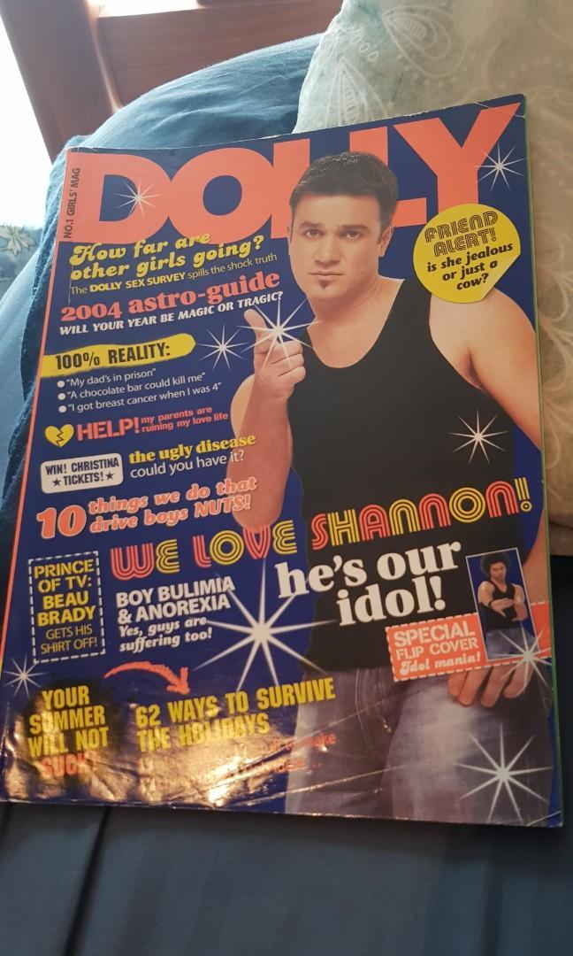 Dolly Magazine. Shannon Noll & Guy Sebastian