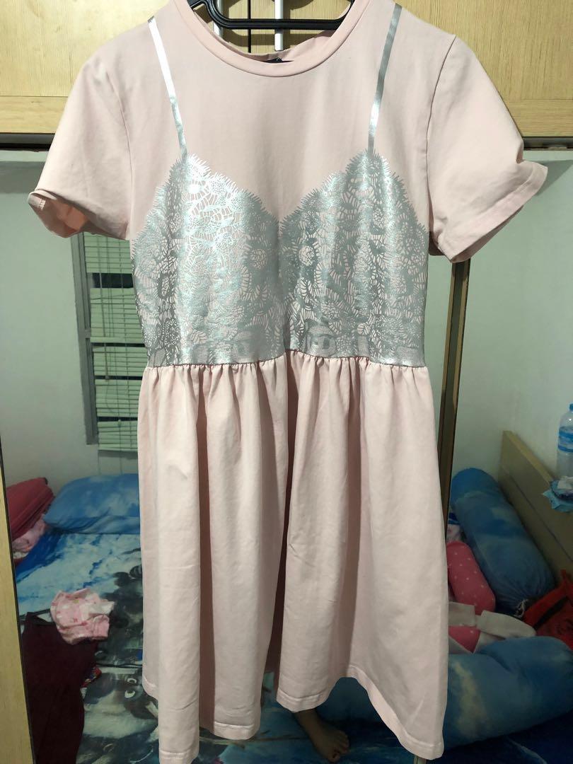 Dress lucu Something Borrowed