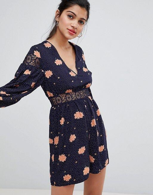Dress new with tags too big. Kookai Bardot sheike ASOS