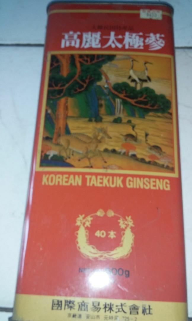 Gingseng asli korea