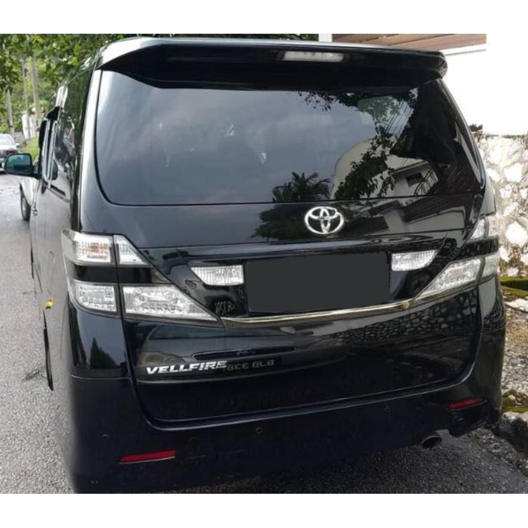 Toyota MPV One-day or long-term rental Alphard / VELLFIRE FOR RENT!
