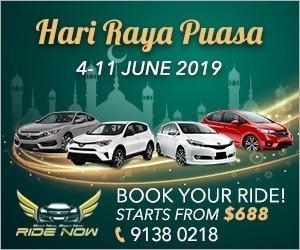 Hari Raya Puasa 2019 (04 - 11 Jun) Min 7 days rental. Affordable and P plate Friendly