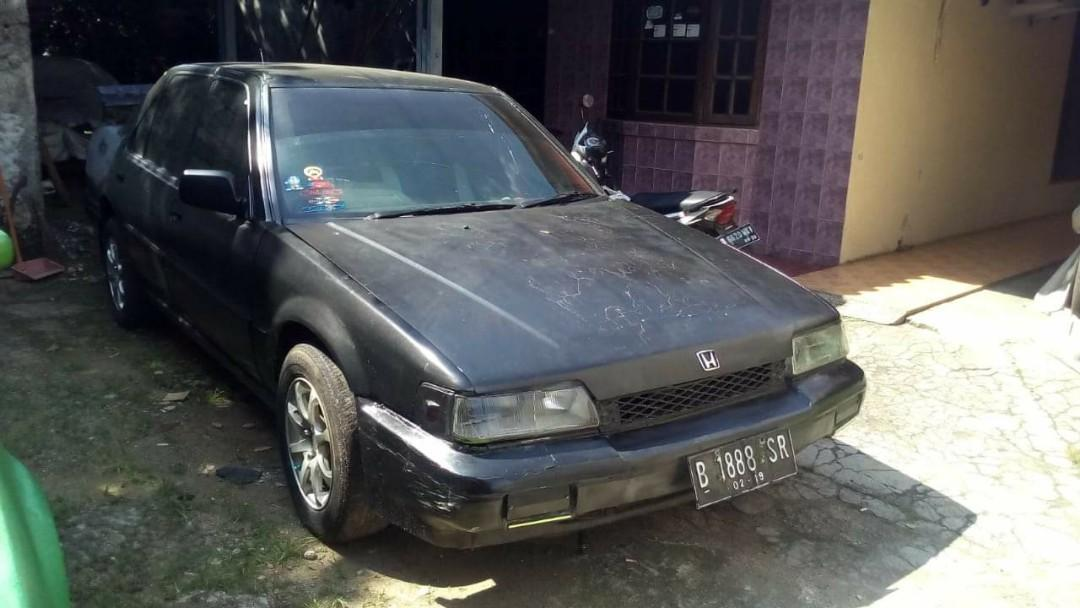 Honda accord prestige th 87 warna hitam