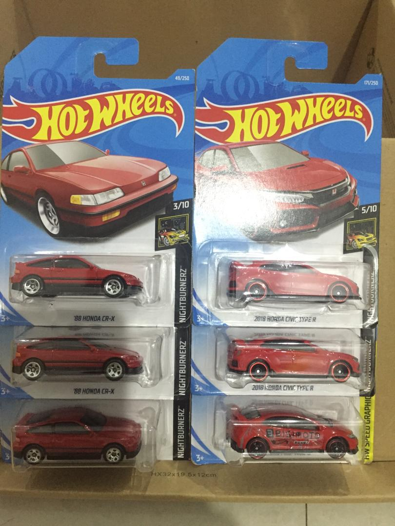 Hot Wheels Paket 6 pcs