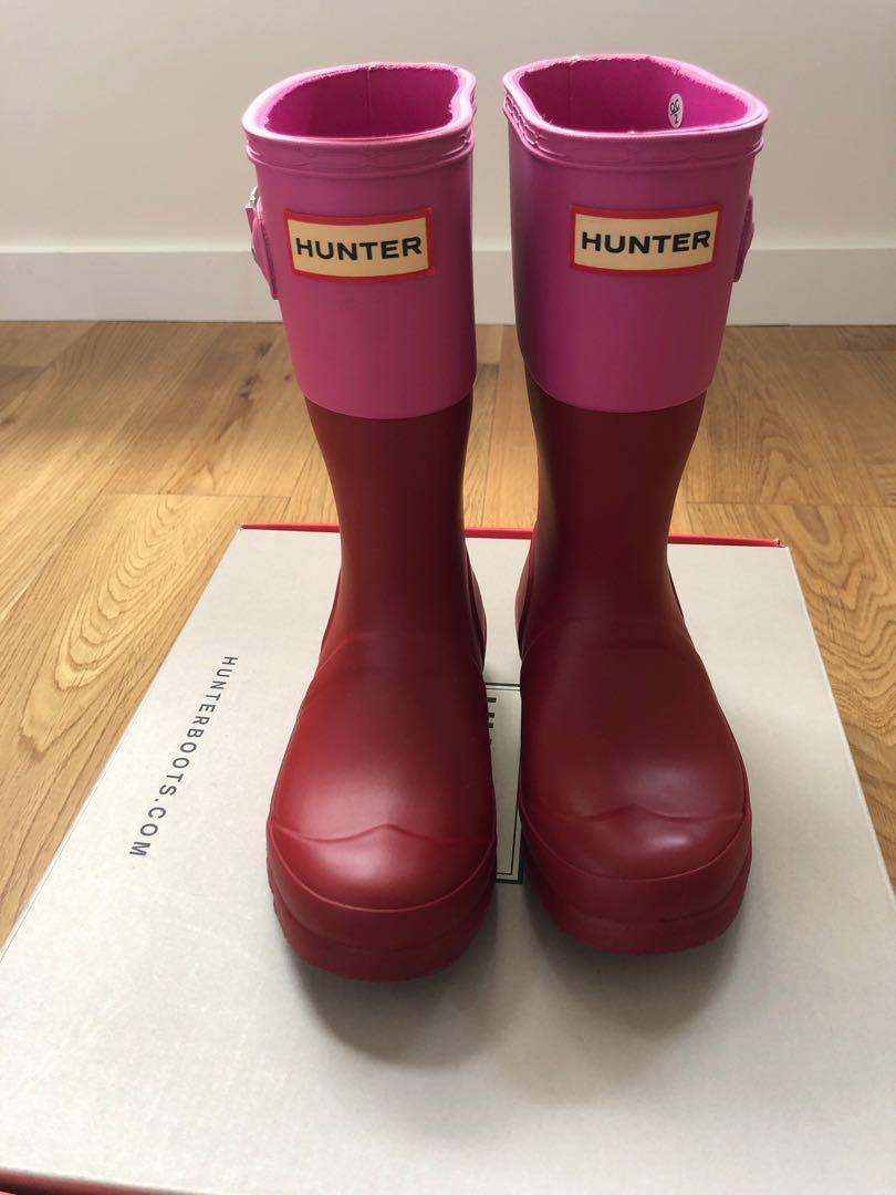 女童Hunter Rain Boots