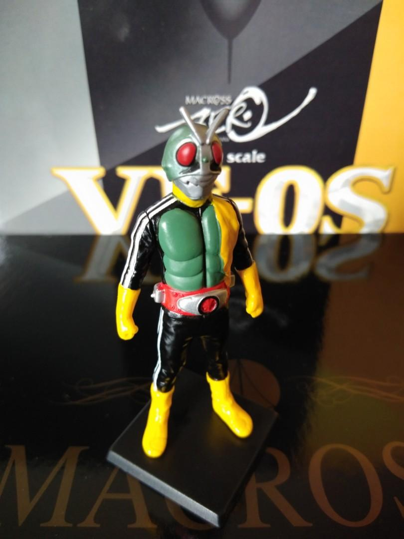 Kamen Rider Shocker Gashapon