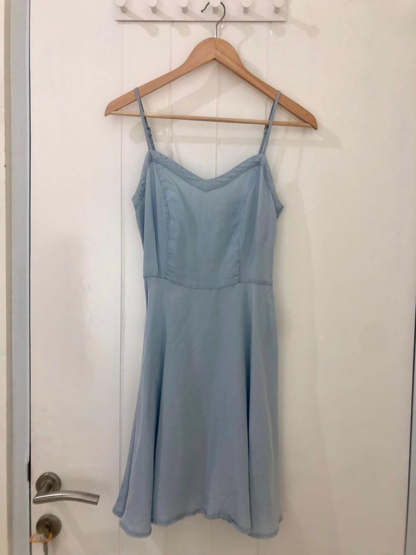 Light Blue Cotton On Dress #MAUTHR