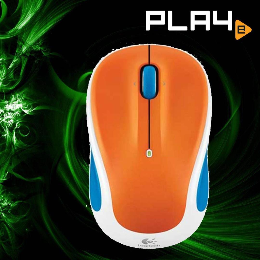 Logitech M325 Wireless Mouse Citrus Cooler Brand New