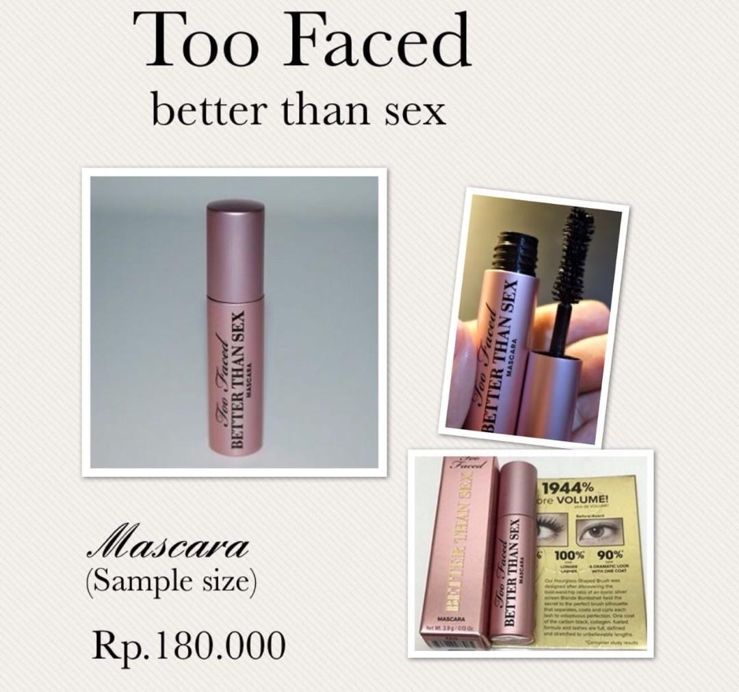 Mascara too faced