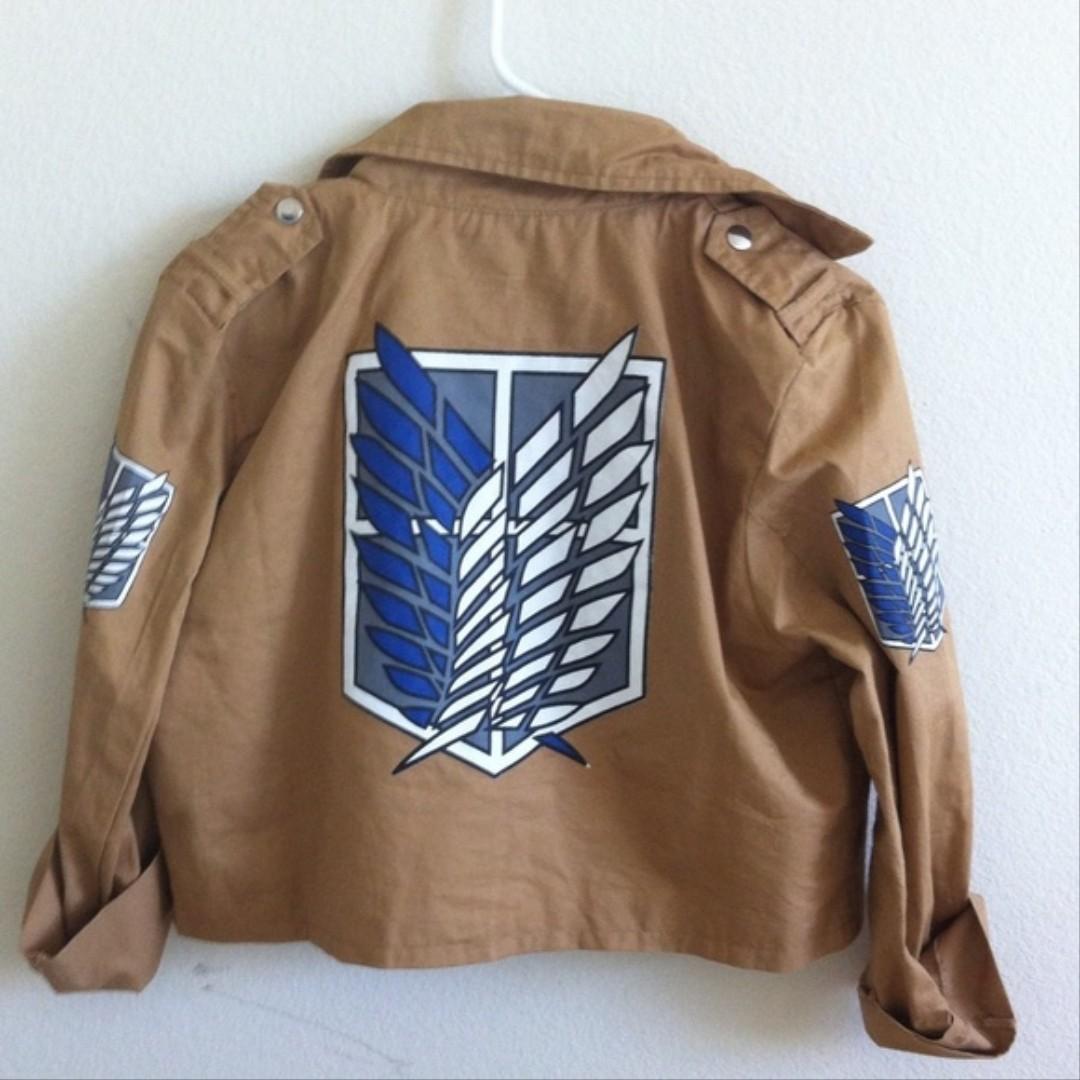 #mauthr Shinkegi No Kyoujin Cropped Jacket