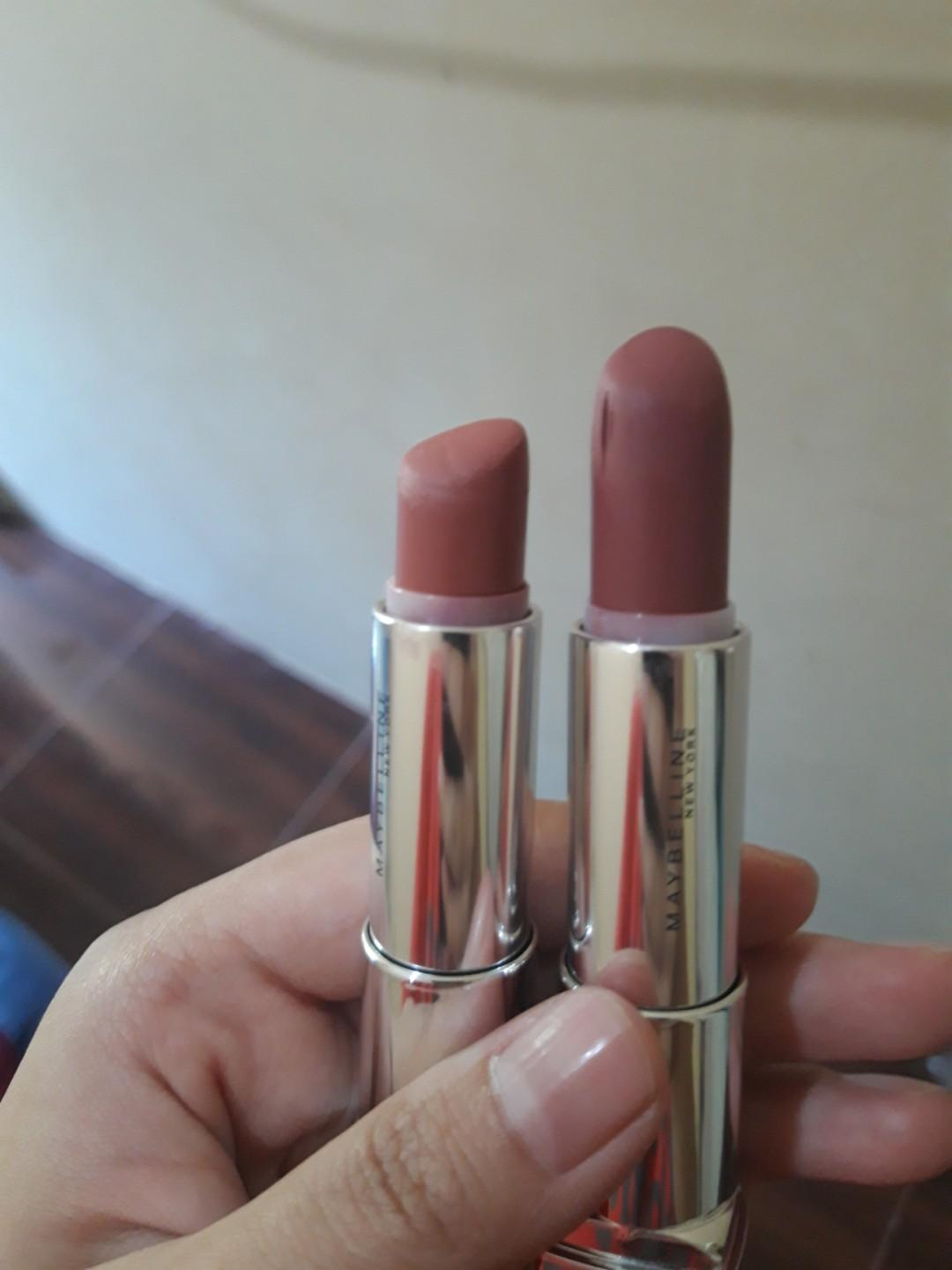 #mauthr Maybelline The Powder Mattes