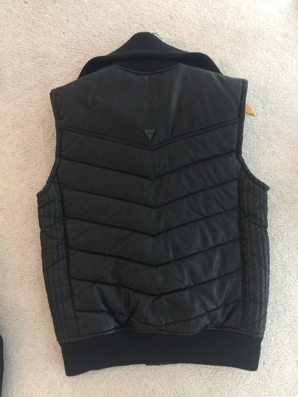 Men's black vest by Guess (size M)
