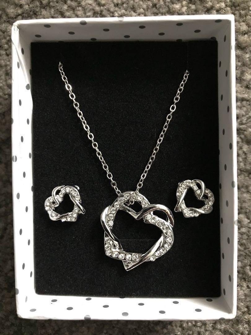 Necklace Earrings Set; GIFT IDEA