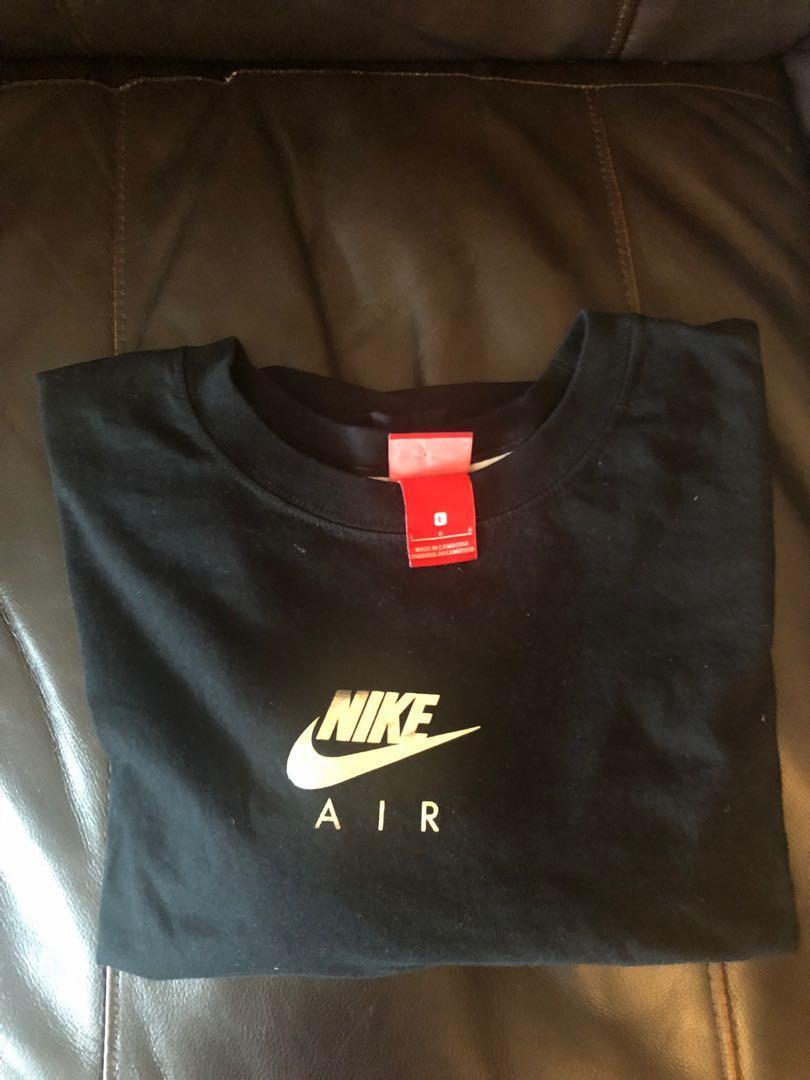 Nike Black Crop Top