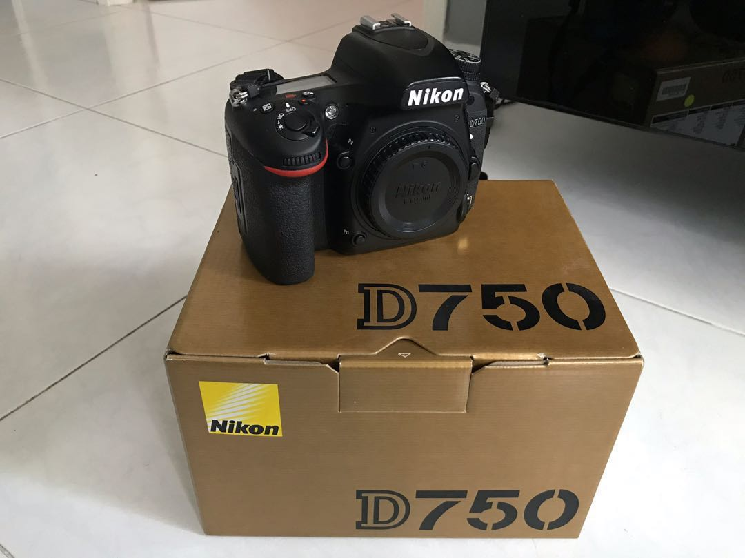 Nikon D750 for Sale, Photography, Cameras, DSLR on Carousell