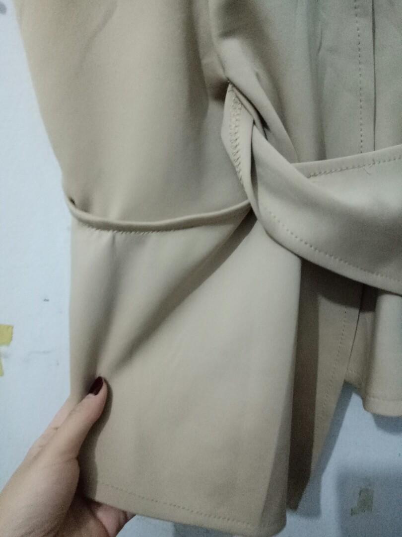 Nude Blouse Kimono Knot Twist