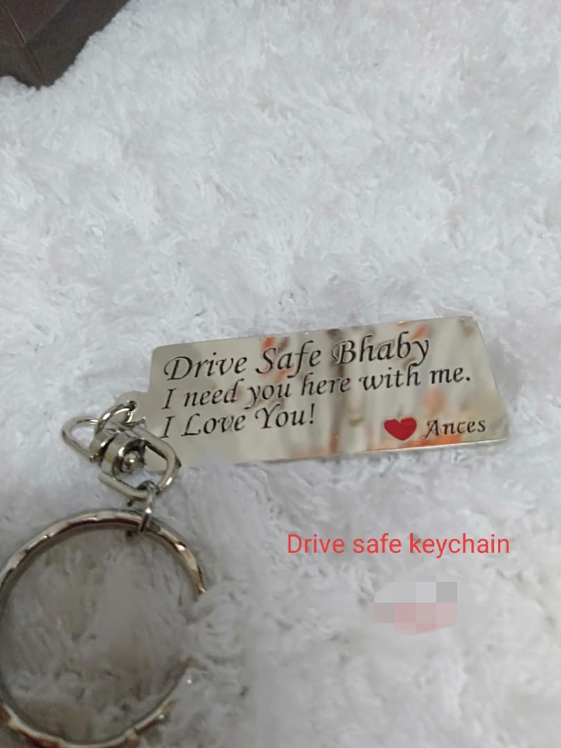 Personalized engrave keychain on Carousell
