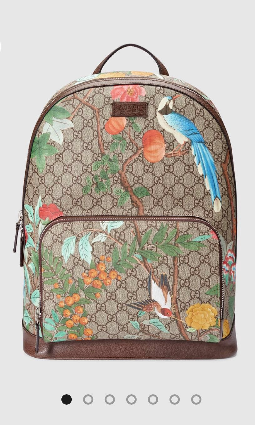 d0b08208c2ec2f PRELOVED GUCCI Tian GG Supreme Backpack, Luxury, Bags & Wallets ...