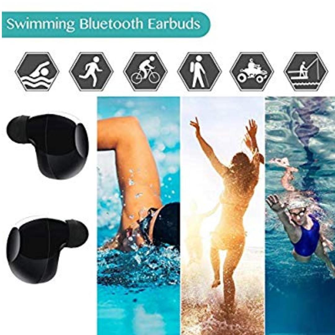 Premium Wireless Earbuds - Built in Mic, Rechargeable case, Waterproof, Universal Bluetooth