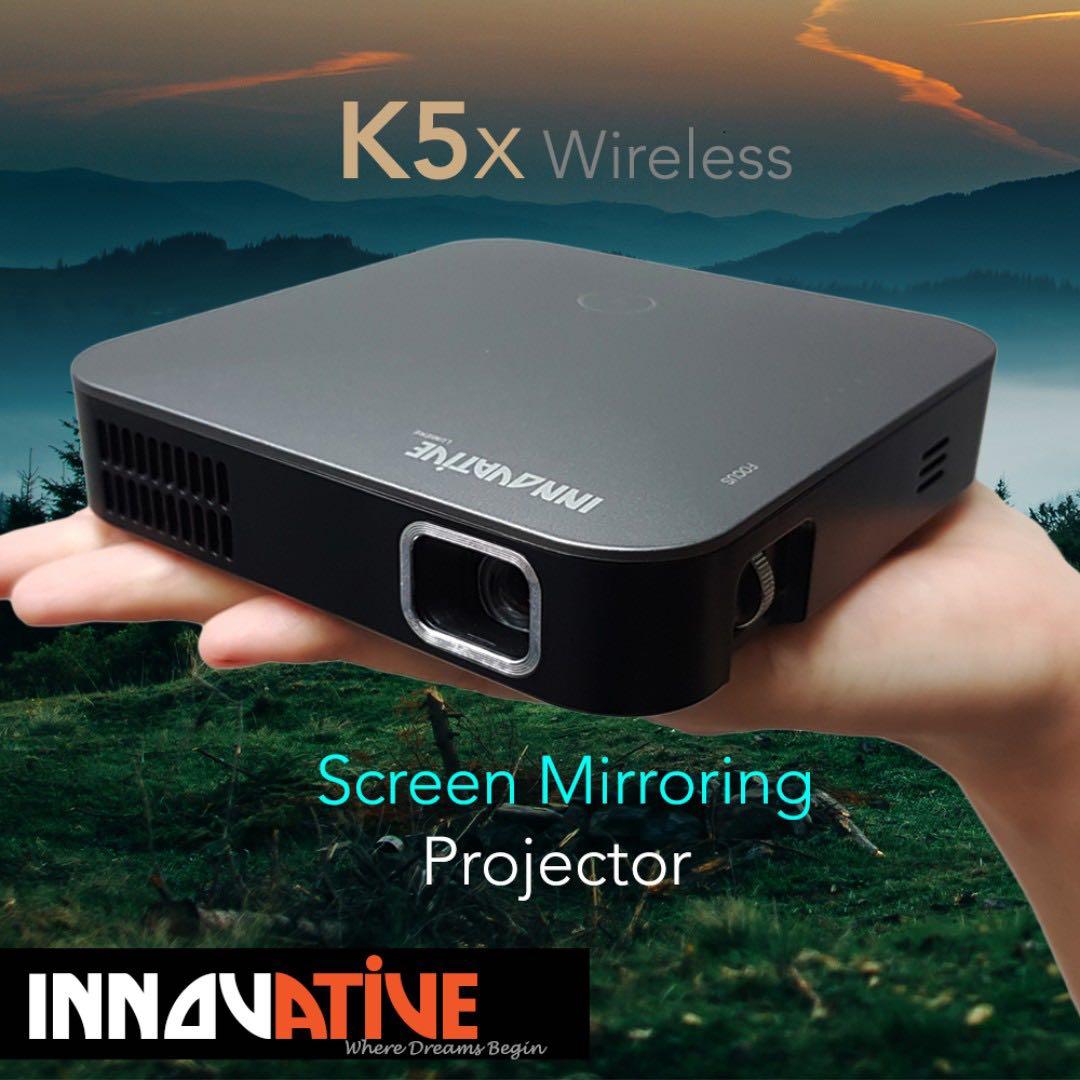 a5a1279b2f48c3 Projector Innovative K5x Wireless (pocket size), Home Appliances ...