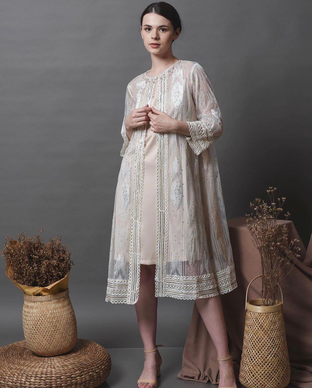 Sabcath - Ameera Ivory Dress