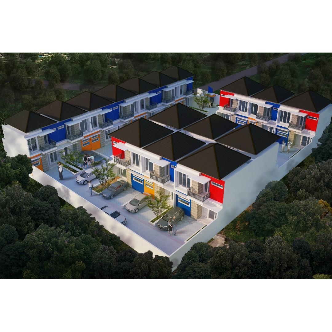 Sisa 7 Unit Rumah Cluster Minimalis Bintara Dekat Tol & Stasiun Cakung