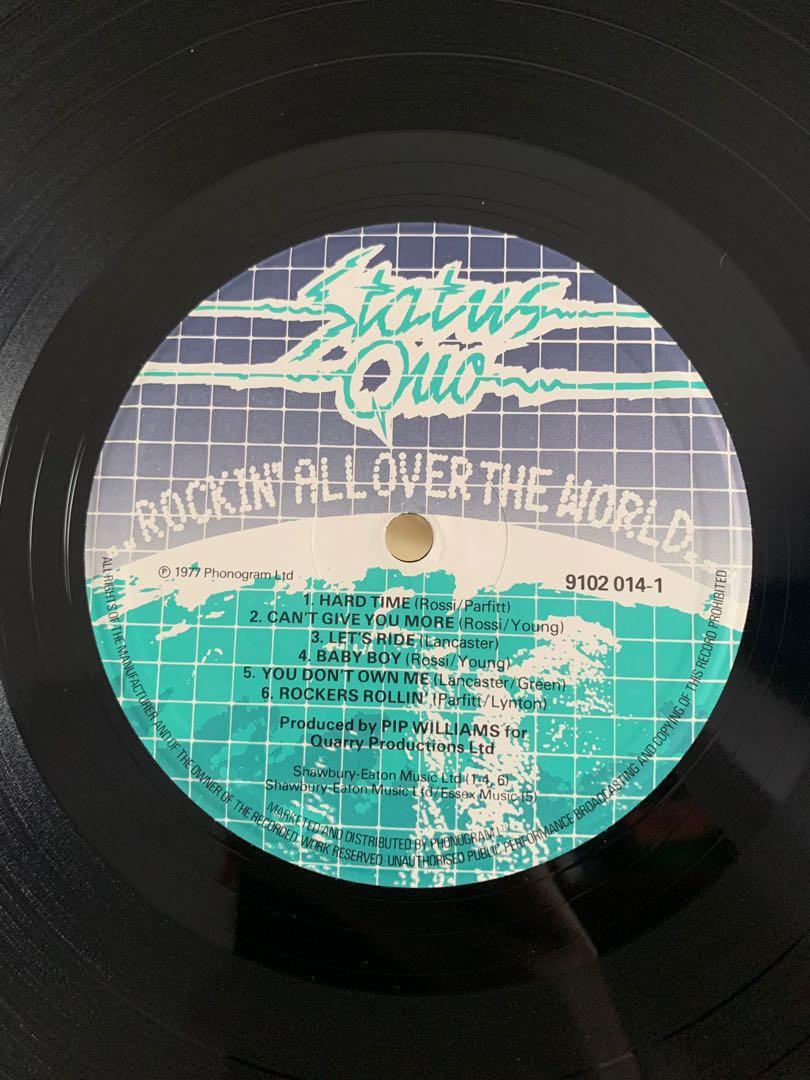 Status Quo Rockin All Over The World