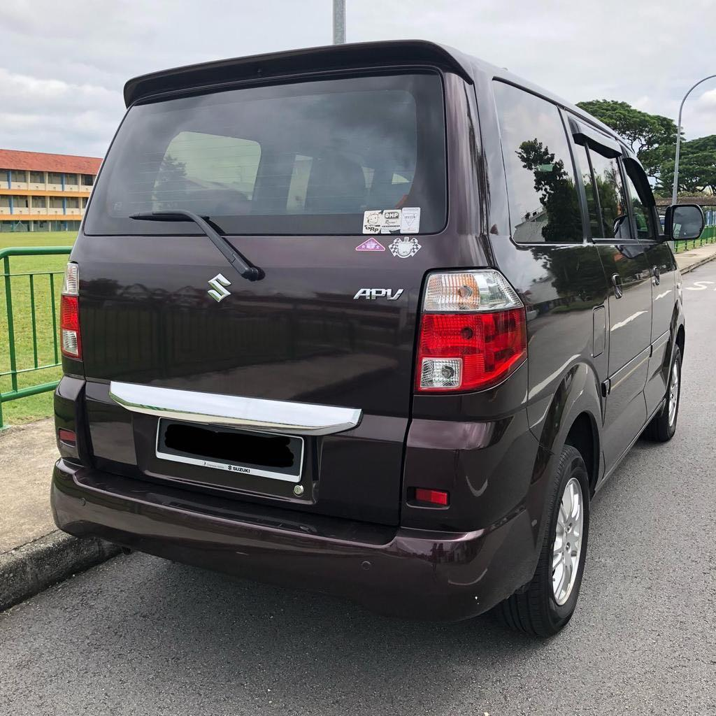SUZUKI APV 1.6A 7-Seater (NOT COE CAR)