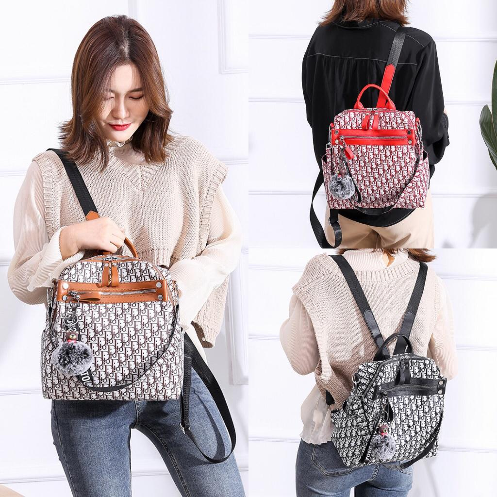 Tas Ransel Gendong Backpack Tas Fashion Wanita Cewek Impor Code 3505
