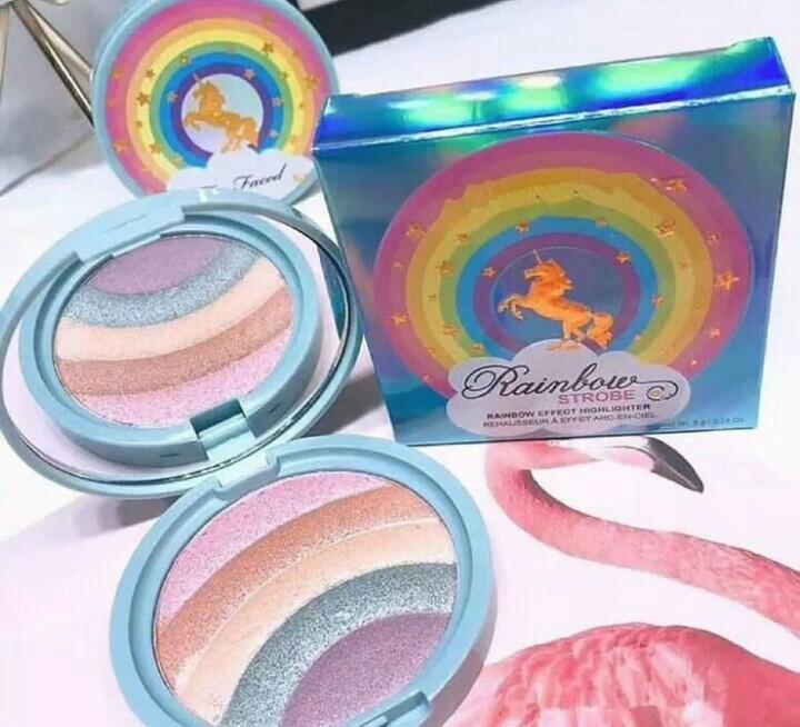 too faced rainbow highlighter
