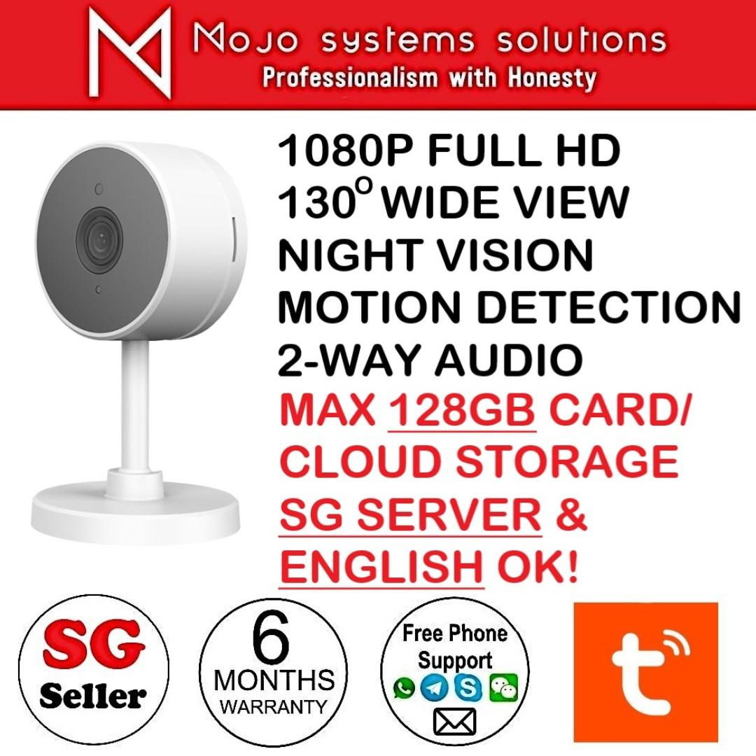 Tuya Smartlife SC-WA002 Home Security Camera 1080P 130