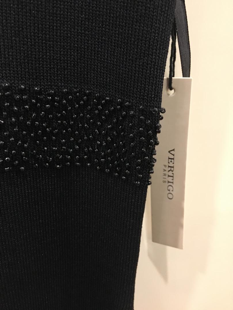 Vertigo black classy dress and cardigan (size small)