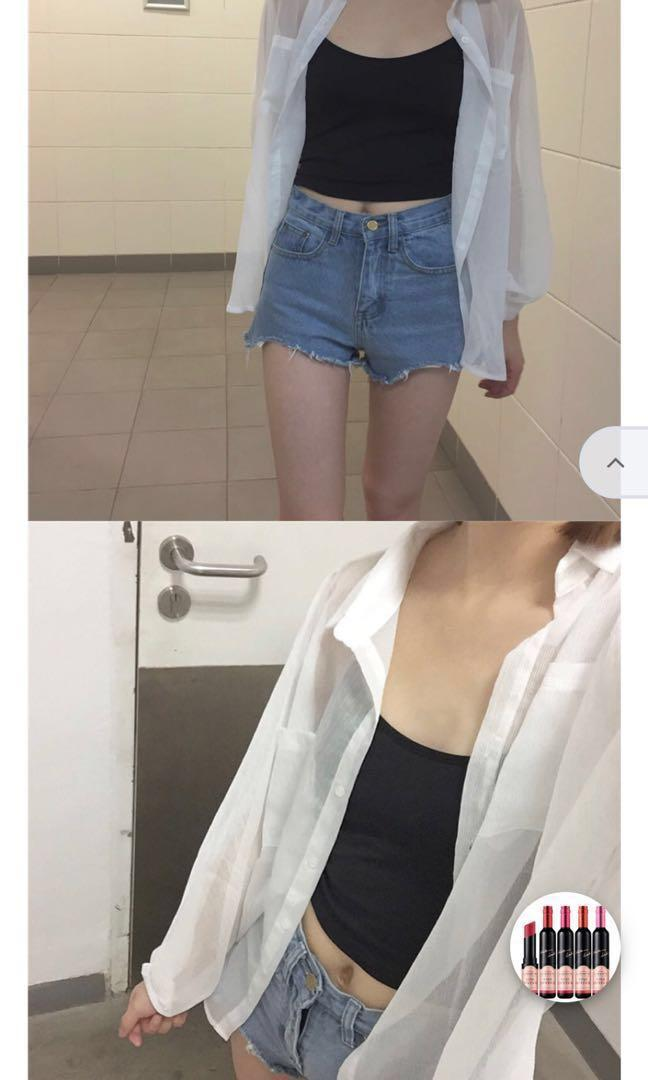 white oversized button down batwing jacket BNWT