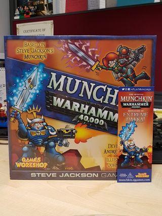 Munchkin Warhammer 40K Board Game + Bonus WD Bookmark