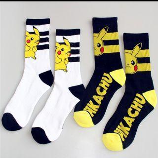 Pikachu Pokémon Pokemon Pocket Monster long socks