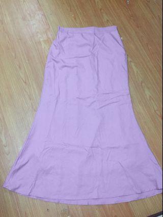 Kurung Skirt-Pink